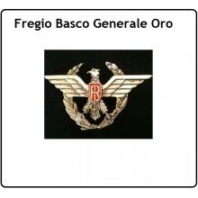 Fregio Basco  Generale Oro Esercito Carabinieri G.di F. Polizia  Art.NSD-F-29