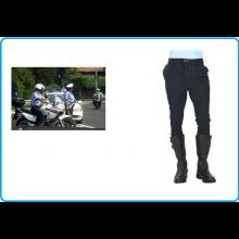 Pantaloni per Moto Motociclista Polizia Locale Municipale  Blu Notte Italia Art.PM-MOT