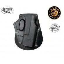 Fondina con Sicura in Plastica a Iniezione Fobus Usa Vega holster  Art.US8