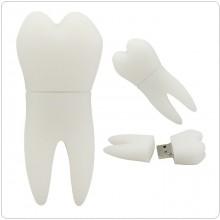 Chiavetta USB 8 Giga Forma di Dente Dentisti Infermieri Addetti Alla Poltrona Art.DENTE