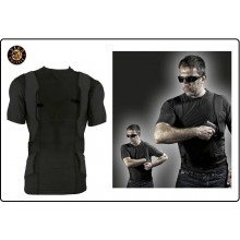 T-Shirt con Fondina Interna Ambidestra VEGA UNDER SHIRT HOLSTER Art.UWH401