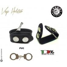 Distanziale per Cinturone con Chiave per Manette Nero Bianco Verde Vega Holster Italia  Art. 8V02