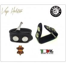 Distanziale in Pelle con Chiave Manette Incorporata Vega Holster Italia Art. 1V02