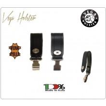 Passante Cinturone con Moschettone Vera Pelle Vega Holster Italia  Art.1V12