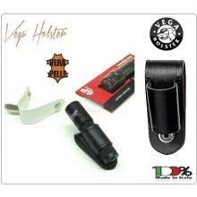 Porta Pila Porta Torcia  Surfire Walther in Cuoio Vega Holster Italia  Art.1V33