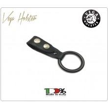 Passante in Pelle per Cinturone Porta Pila D/Cell. Vega Holster Italia Art.8V13