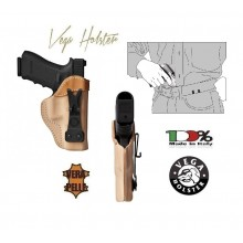 Fondina in Pelle Professionale UC1 da Sotto Camicia Polizia Carabinieri GPG IPS Investigatori Vega Holster Art. UC1