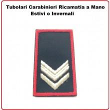 Gradi Tubolari Carabinieri Ricamati a Mano Canuttiglia New Vice Brigadiere Art.CC-CAN-7