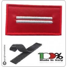 Grado Rosso Su Velcro Vigili Del Fuoco Capo Scquadra Esperto  Art.T00417