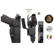 Fondina per Pistola Professionale Destinata ad un uso di Polizia o Law Enforcement  GUARDIAN Vega Holster Italia  Art.VKG8