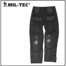 Pantalone Pantaloni con Protezioni Ginocchio Integrate Combat WL Nero MIL-TEC Art.10513202
