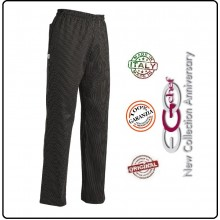 Pantalone Pants Hose Coulisse Cuoco Chef Professionale Ego Chef Italia Sir Art.3502054A