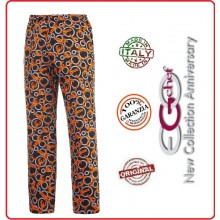 Pantalone Pants Hose Coulisse Cuoco Chef Professionale Ego Chef Italia Lobster Art.3502134A