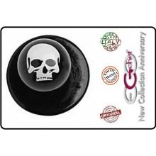 Bottone Per Giacca Cuoco Chef  Ego Skull Teschi Chef Nuovo  Art.640420