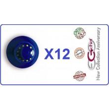 Bottone Bottoni Funghetto per Giacca Cuoco Chef Confezione 12 Pezzi Europa Ego Chef Art.BOTT-3