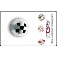Bottone Bottoni Per Giacca Cuoco Chef  Ego Scacchi Chef Nuovo Confezione 12 pezzi Art.640406