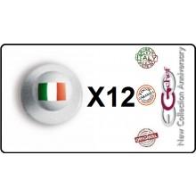 Bottone Bottoni Funghetto per Giacca Cuoco Chef Confezione 12 Pezzi Italia Ego Chef Art.BOTT-2