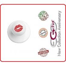 Bottone Per Giacca Cuoco Chef Kiss Bacio di Donna Ego Chef Nuovo  Art.Y640419