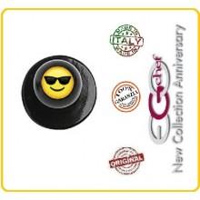 Bottone Per Giacca Cuoco Chef Glasses Occhiali  Ego Chef Nuovo Art.Y640424