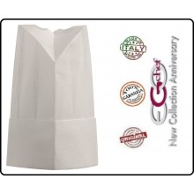 Cappello Berretto Cuffia Moon Carta TNT Chef Cuoco H25 Confezione 1 pezzo Ego Chef Italia Art.Y648000