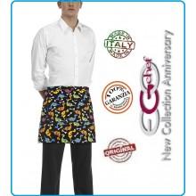 Grembiule Falda Banconiere Con Tascone Dino cm 40x70 Ego Chef Italia Art.6100133A