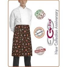 Grenbiule Falda Banconiere Con Tascone Sweets cm 40x70 Ego Chef Italia Art.6100136A