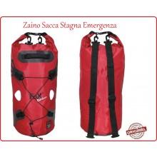 Zaino Borsa Trasporto DRY PAK 30 Rosso Impermeabile 118 Soccorso - CRI - Misericordia - PC Art.30526