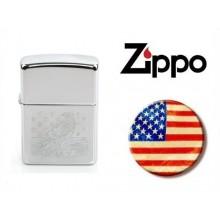 Zippo® Original Lighter USA Eagle + Stars  Art.421126-1638
