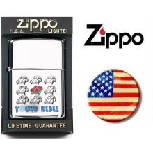 Zippo® Original Lighter Maggiolone - Yung Rebel  Betle 3 Art.421124-3318
