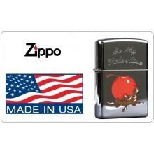 Accendino Zippo® Original Originale USA San Valentino Valentine Cherry  Ciliegia + Cioccolato Art.421121-CH