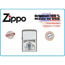Accendino Zippo® Original Originale USA Barista Bar Barman Bartender Art.421307