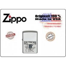 Accendino Zippo® Original Originale USA Elettricista Electrician Art.421311