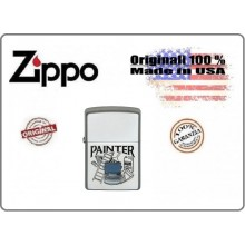 Accendino Zippo® Original Originale USA Imbianchino Painter Art.421314