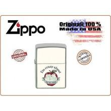 Accendino Zippo® Original Lighter I'm Crazy About THE BIG APPLE  Art.421121-1626