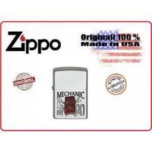 Accendino Zippo® Original Originale USA Meccanico Mechanic Art.421312