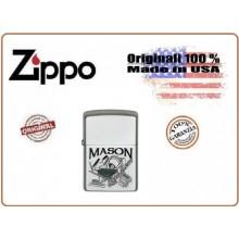 Accendino Zippo® Original Originale USA Muratore Mason Art.421313
