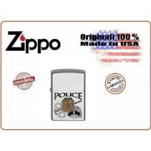 Accendino Zippo® Original Originale USA Polizia Poliziotto Police Art.421315