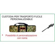 Borsone Custodia Royal Portafucile Porta Fucile Vegetato Soft Air Militare Caccia  Personalizzabile con il Nome Ricamato Art.B120TC