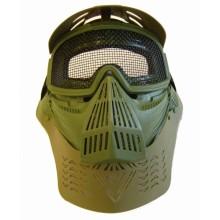 Maschera Facciale Verde Completa per Soft Air Art.2604VR