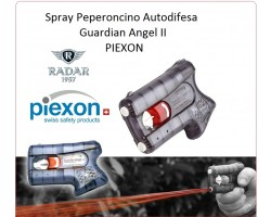 Piexon Spray Antiagressione Difesa Personale Guardian Angel II Libera Vendita Distribuita da Radar 1957 Peperoncino Art.8200-0079