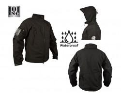 Giacca Giubbino Impermeabile Soft Shell Jack Tactical Waterprof Softshell PCU Nera 101 INC Originale Art. 129840