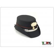 Berretto Ordinanza Carabinierri Modello Femminile 4 Stagioni Compreso di Stemma VENDITA RISERVATA Art.BER-CC-D