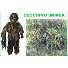 Tuta da Sniper Woodland Ghilli Suite Ghillie Militare Cecchino Caccia Art.07703T