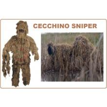 Tuta da Sniper  Sabbia Ghilli Suite Ghillie Militare Cecchino Caccia Art.07703Z