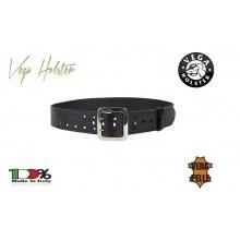 Cinturone in Cuoio H5 con Doppi Fori e Pomello Vega Holster Italia Polizia Carabinieri vigili GPG IPS Art. 1V56
