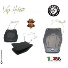 Portaplacca Porta Placca Porta Distintivo Doppio Uso Collo e Cintura Carabinieri Operativo Vega Holster Italia Art.1WB50