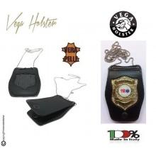 Porta Placca Doppio Uso Collo - Cintura Soccorso Sanitario 118  Vega Holster Italia Art. 1WB116