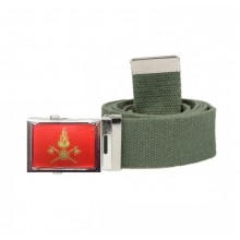 Cintura Canapa Verde Vigili Del Fuoco Vetrificata Art. CIN-4