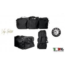 Borsone con Ruote a Grande Capacità Nera Missione Militare Vega Holster Italia Art. 2B06