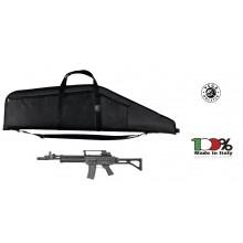 Fodero In Cordura Nera Trasporto Fucile Vega Holster Italia SPAS Beretta AR 70/90 Art. 2B51-2B57